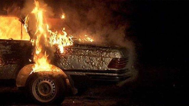За добу на Львівщині горіли чотири автомобілі