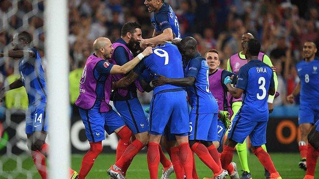 Франція вийшла у фінал Євро-2016
