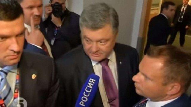 Порошенко – російським ЗМІ: вибори на Донбасі будуть, коли росіяни припинять убивати українців