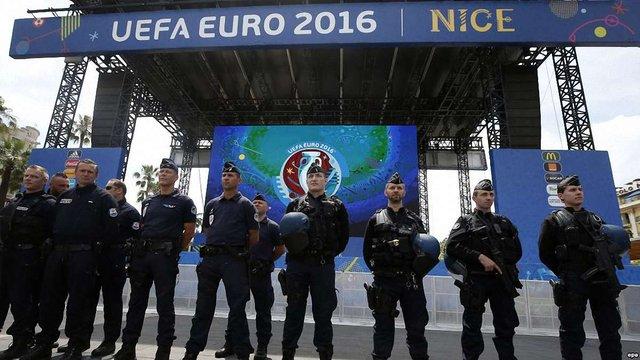 Франція посилює заходи безпеки перед сьогоднішнім фіналом Євро-2016