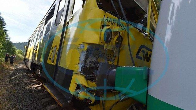 У Чехії зіткнулися два пасажирських потяги, є поранені
