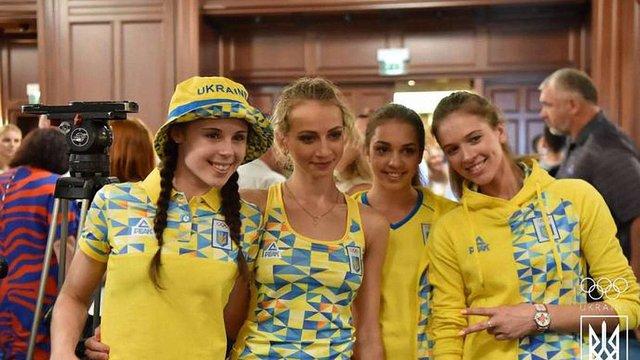 Андре Тан створив форму для  української олімпійської збірної