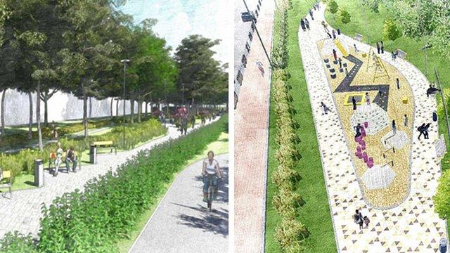 У Шевченківському районі Львова створять два нові громадські простори