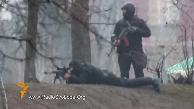 ГПУ знайшла гвинтівку снайпера, з якої розстрілювали майданівців біля Жовтневого палацу