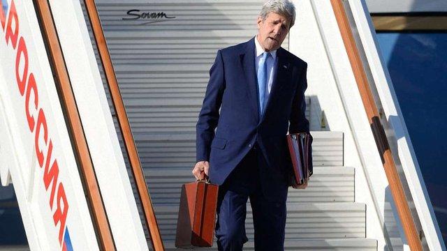 Держсекретар США Джон Керрі прибув до Росії на переговори про Україну і Сирію