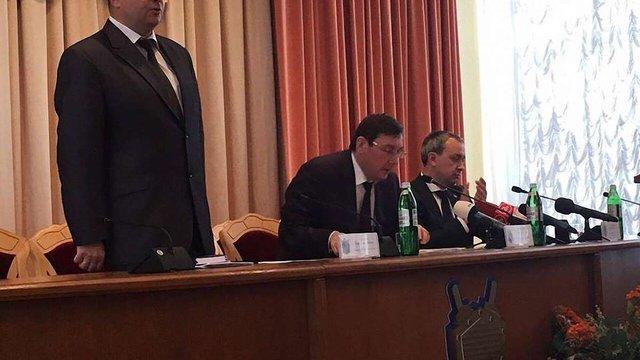 Прокурором Рівненської області став львів'янин Олег Соболь