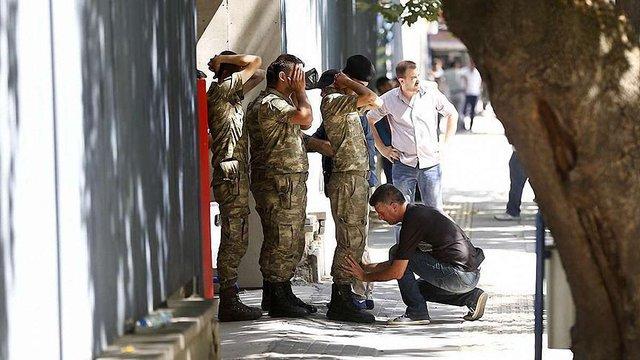Заколотники, які утримували генштаб у Анкарі здалися проурядовим військам
