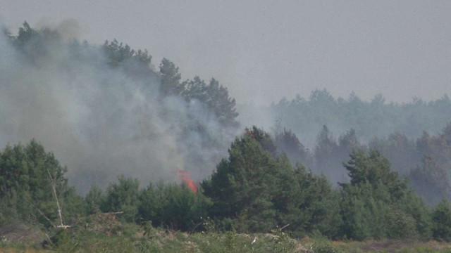 Пожежа у Чорнобильській зоні відчуження локалізована, - ДСНС