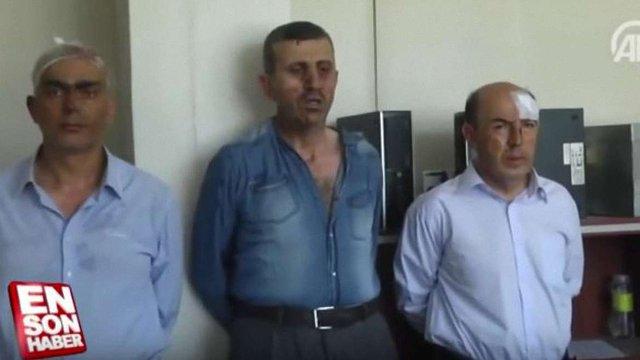 ЗМІ оприлюднили відео із затриманими турецькими військовими, серед яких – організатор заколоту
