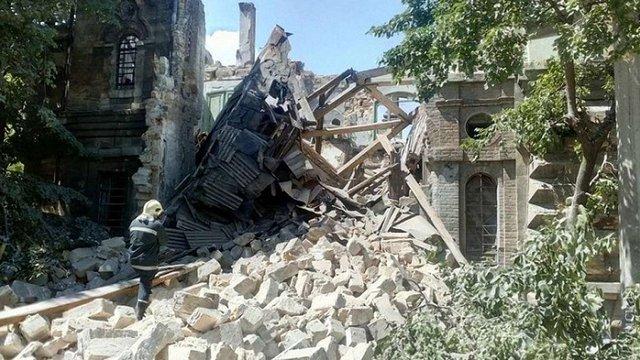 В центрі Одеси завалилась пам'ятка архітектури національного значення