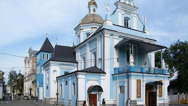 З фасаду самбірської церкви викрали водостічні труби