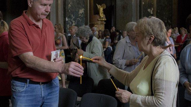 Львів'яни запалили свічки в пам'ять про загиблих бійців АТО