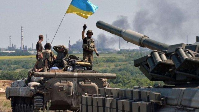 Сили АТО відбили атаку проросійських диверсантів під Мар'їнкою