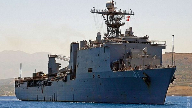У Чорне море увійшов американський десантний корабель для участі у навчаннях «Сі Бриз»