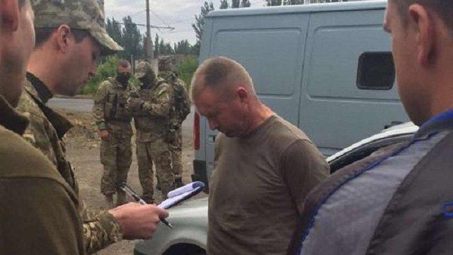 У зоні АТО затримали заступника комбата за збут боєприпасів