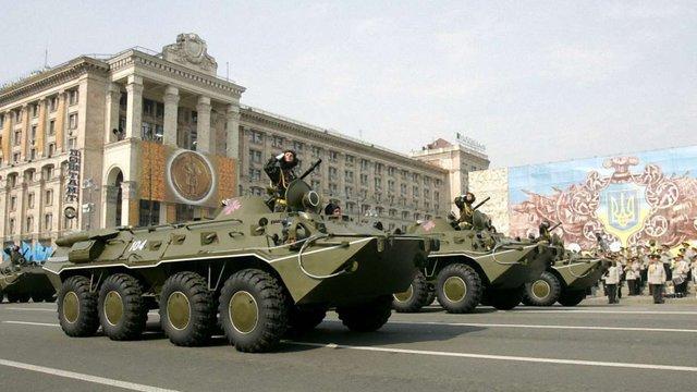 На параді до Дня Незалежності покажуть 200 одиниць техніки, - радник президента