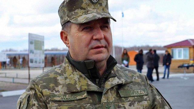Міністр оборони провів позапланову перевірку якості харчування українських військових