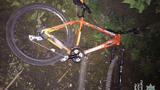 У Львові за гарячими слідами впіймали викрадача велосипеда