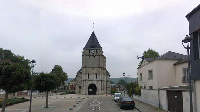 У Франції невідомі захопили заручників в церкві