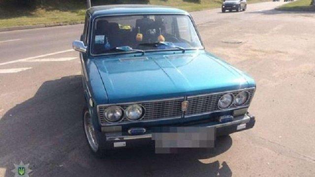 У Львові виявили викрадений у Жидачівському районі автомобіль