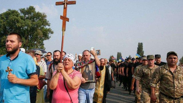 На молебень до Володимирської гірки пустять тільки українських громадян, - Шкіряк