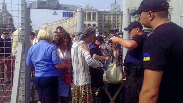 Поліція оприлюднила дані про кількість учасників хресної ходи у центрі Києва