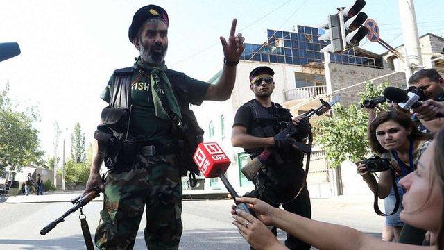 Озброєна група Сасна Црер захопила нових заручників у Єревані