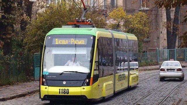 До середини жовтня Львів отримає сім нових трамваїв «Електрон»