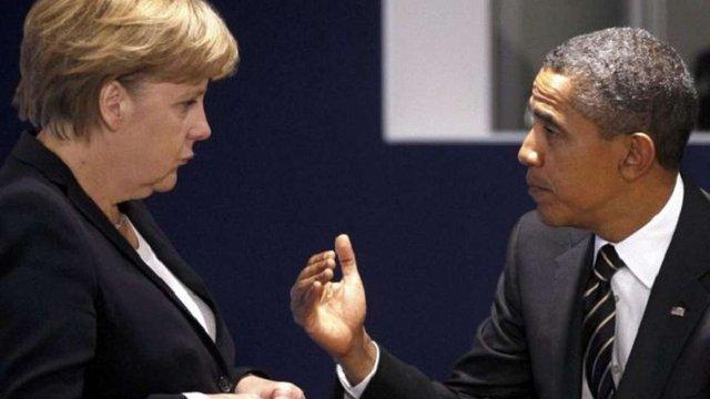 Обама і Меркель обговорили виконання Мінських угод