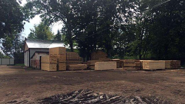 СБУ виявила на Львівщині більше 500 кубометрів незаконно вирубаної деревини
