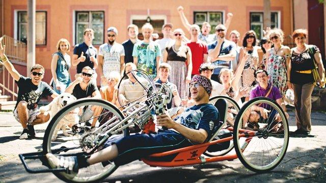 Хлопець із ДЦП проїде велосипедом зі Львова до Лісабона