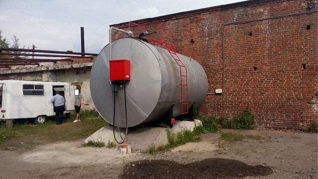 На підпільній АЗС на Львівщині виявили 25 тис. л дизельного пального