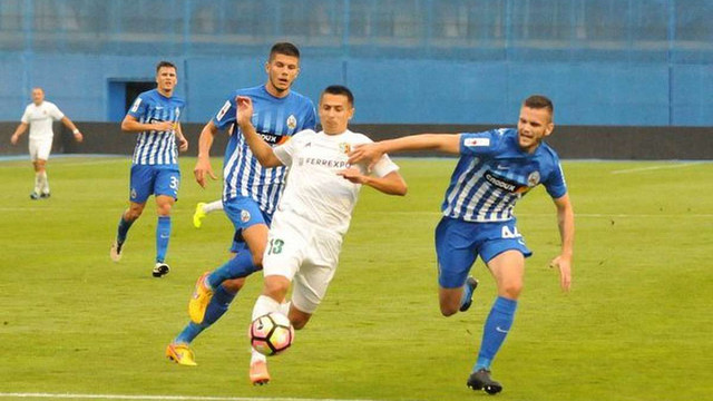 «Ворскла» не змогла обіграти загребську «Локомотиву» у Лізі Європи