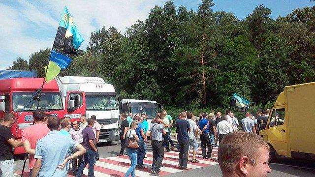 Шахтарі завершили страйк на трасі Львів-Рава-Руська