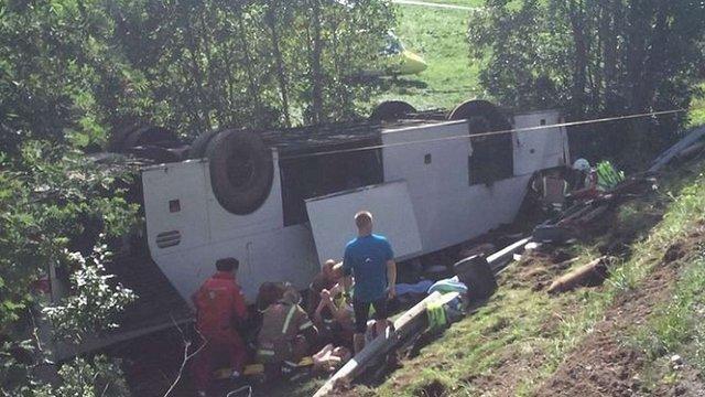 Посол назвав ймовірну причину ДТП з українцями в Норвегії