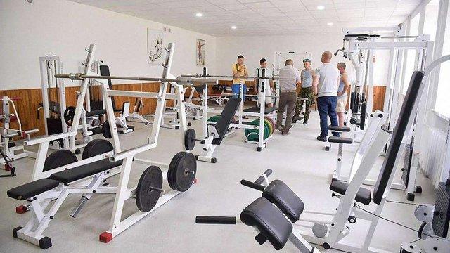 У Львові відкрили перший тренажерний зал для ветеранів АТО та дітей