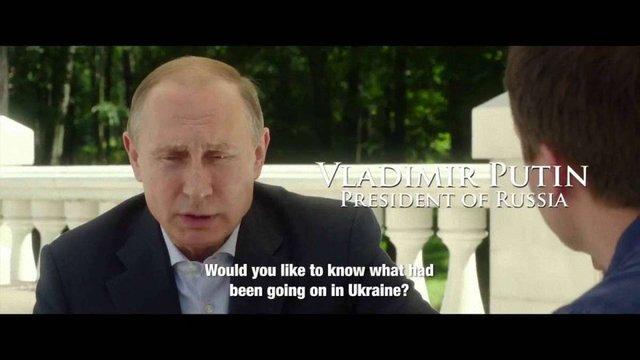 Американський режисер Олівер Стоун знімає фільм про Путіна