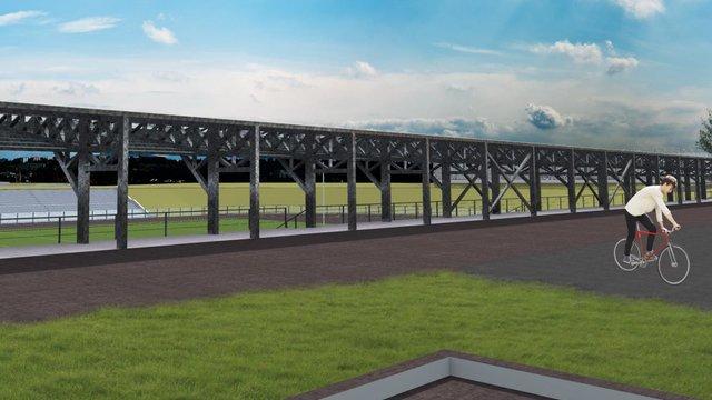 У Парку культури за ₴9,3 млн відремонтують стадіон «Юність»