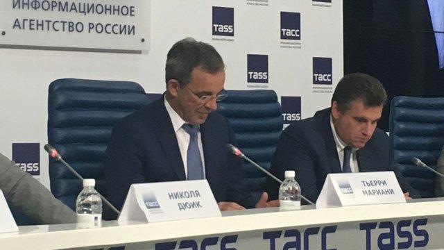 Український журналіст роздратував французького політика питаннями про Крим і Корсику