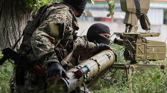 На Донеччині бойовики застосували важке озброєння проти сил АТО