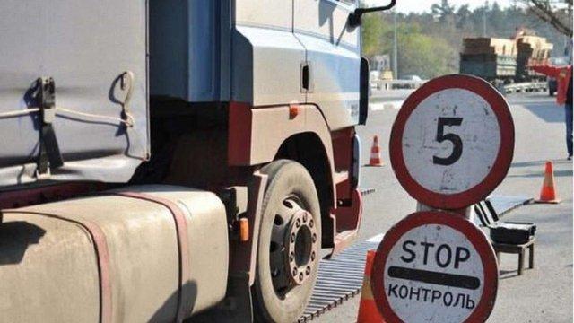 На Львівщині перевантажені фури за тиждень оштрафували на майже €2 тис.
