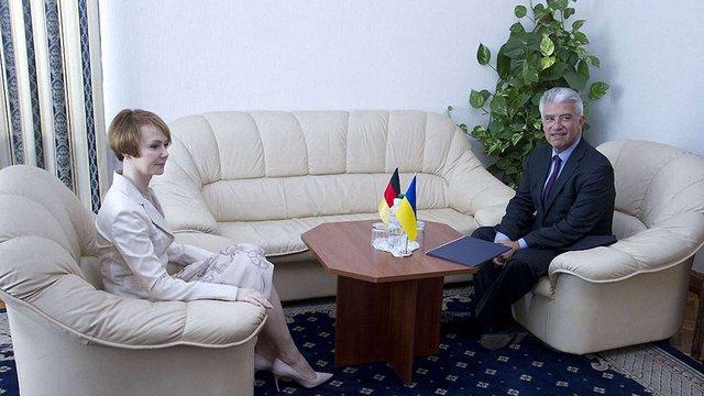 Новий посол Німеччини приїхав в Україну