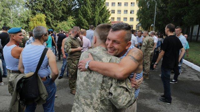 У Львові десантники відзначили День ВДВ
