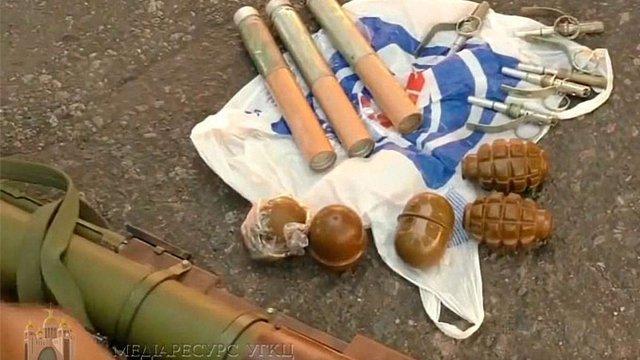 УГКЦ засудила дії затриманого на Донеччині священика з гранатометами