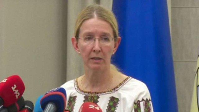 Голова МОЗ Уляна Супрун ініціювала термінове засідання РНБО з приводу вакцинації дітей