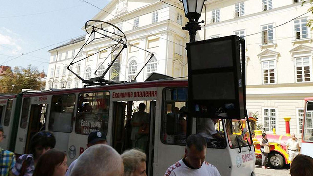 У Львові виникли проблеми з роботою інформаційних табло на зупинках транспорту