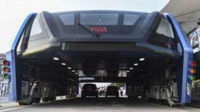 В Китаї запустили «автобус майбутнього»