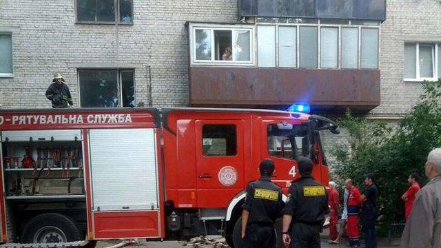 У Львові в сміттєпроводі житлового будинку виникла пожежа