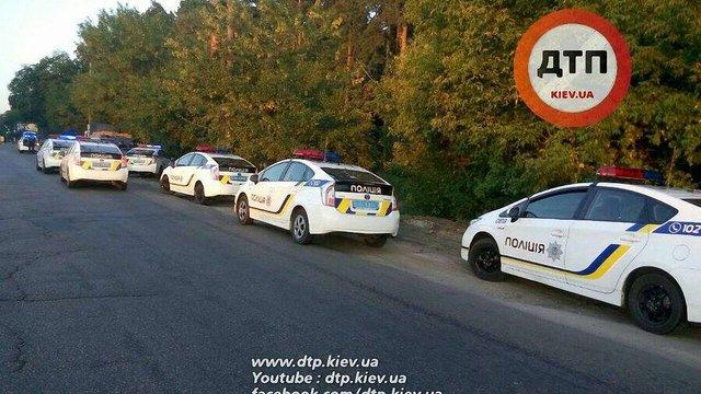 У Києві поліція на восьми автомобілях влаштувала гонитву за порушником ПДР