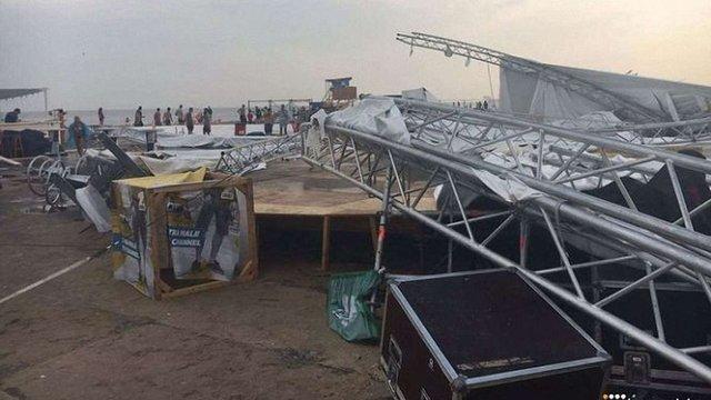 На фестивалі Z-Games у Затоці від удару блискавки загинув чоловік